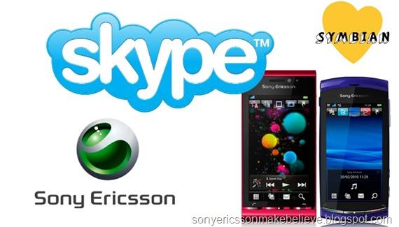 Skype for Sony Ericsson Smartphones