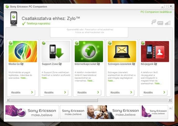 Sony Ericsson PC Companion 1