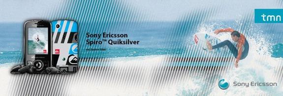 Sony Ericsson Spiro Quicksilver Edition