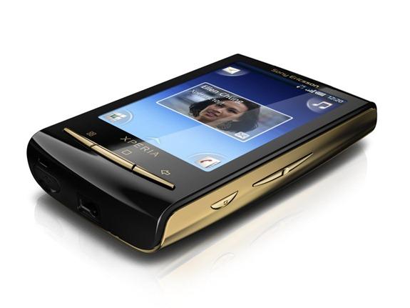 Sony Ericsson X10 Mini Gold - 01