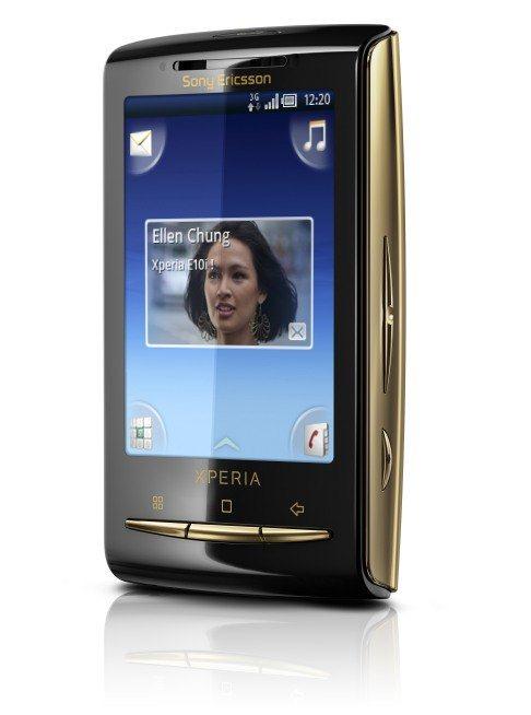 Sony Ericsson X10 Mini Gold - 02