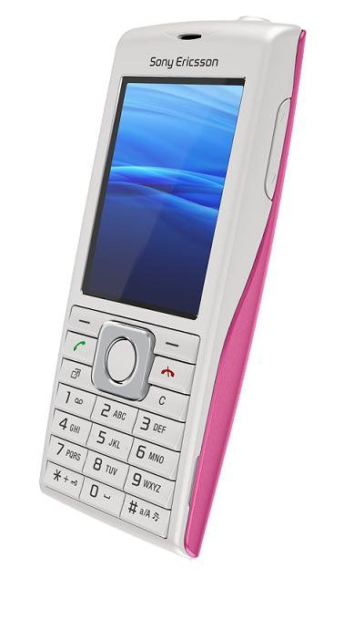 Sony Ericsson Cedar Pink 02
