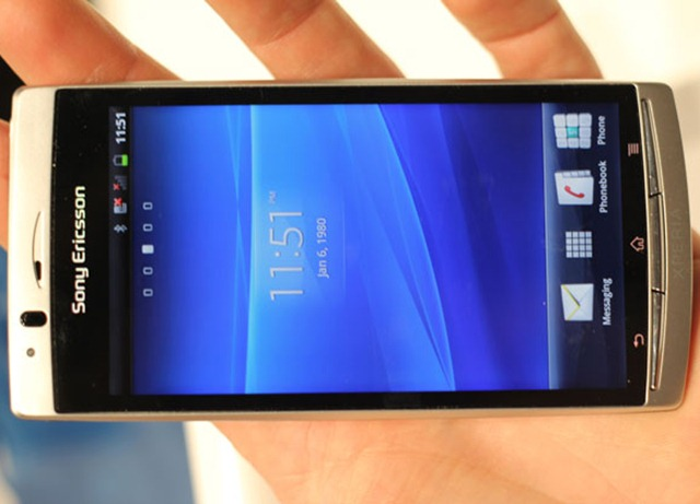 Sony Ericsson Xperia Arc Android & Me