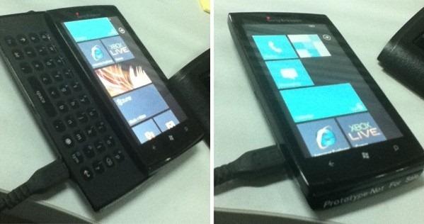Sony Ericsson WP7 Mobile