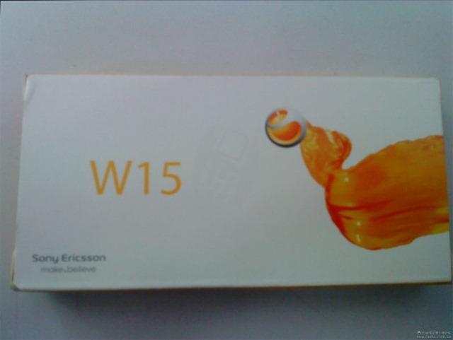 Sony Ericsson Walkman W15