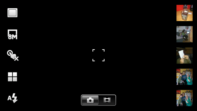 Xperia arc - Kamera 01