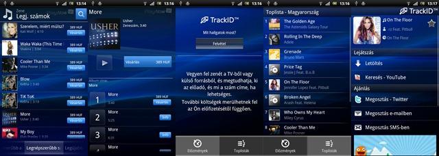 Xperia arc - PlayNow & TrackID