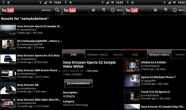 Xperia arc - YouTube