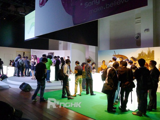 Sony Ericsson CommunicAsia 2011 01