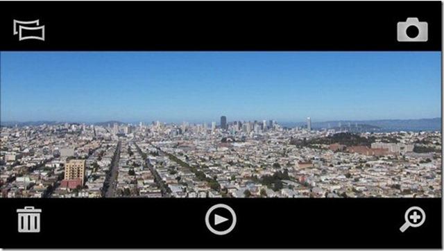 Xperia X10 Panorama App