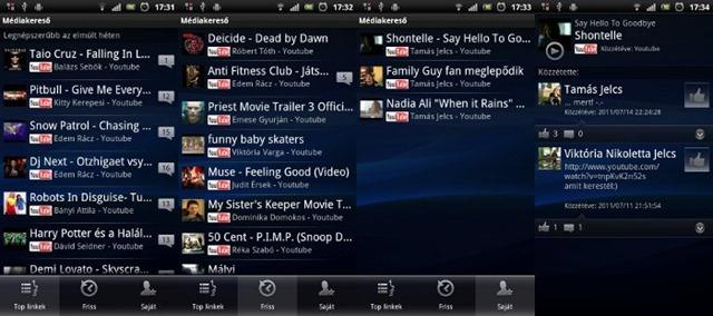 Facebook inside Xperia 01