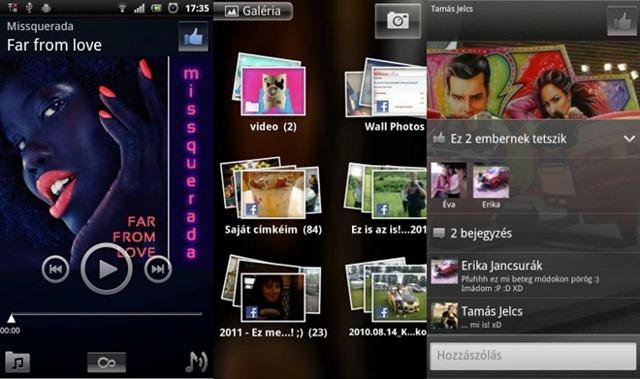 Facebook inside Xperia 02