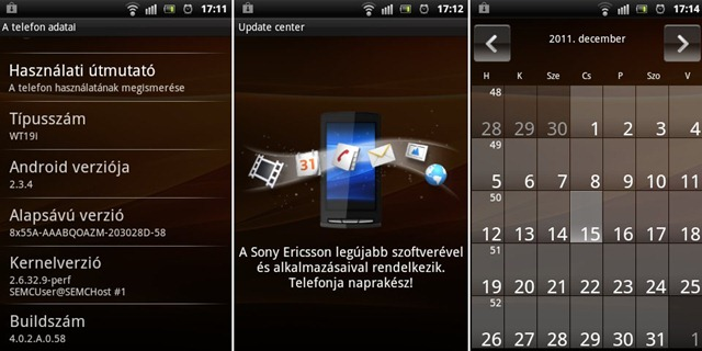Sony Ericsson Live with Walkman Screen 02