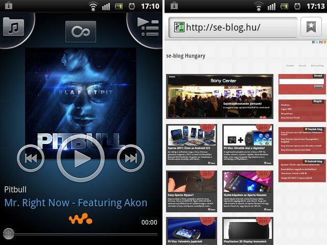 Sony Ericsson Live with Walkman Screen 03