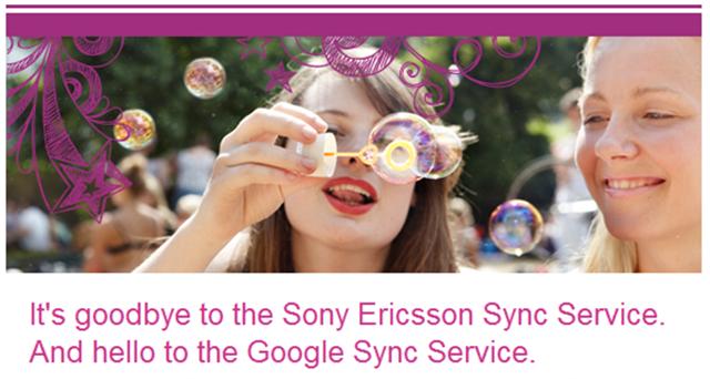 Sony Ericsson Sync