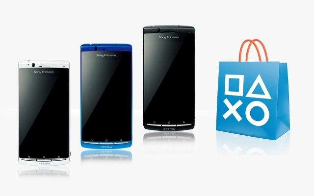 Xperia acro & PS Store
