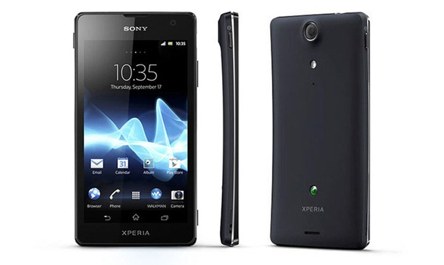 Sony Xperia GX SO-04D Black