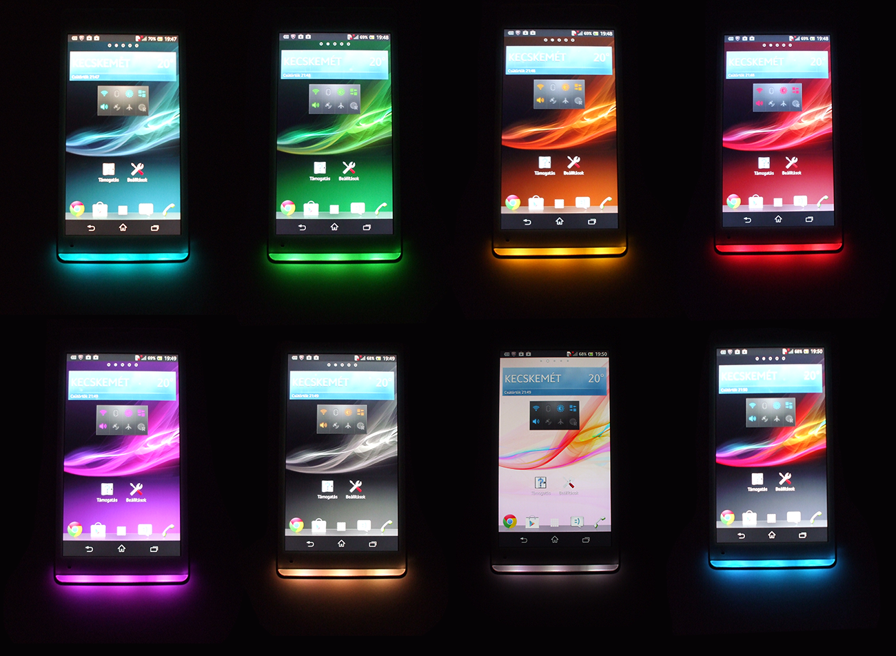 Xperia SP lights