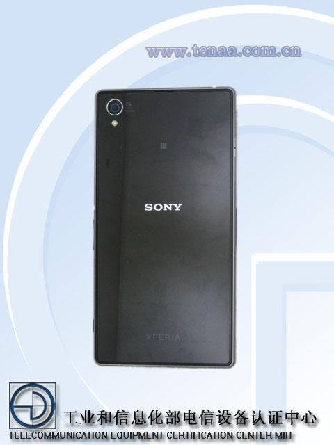 Sony Xperia Z1 (Honami) hátulról