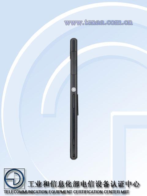 Sony Xperia Z1 (Honami) oldalról
