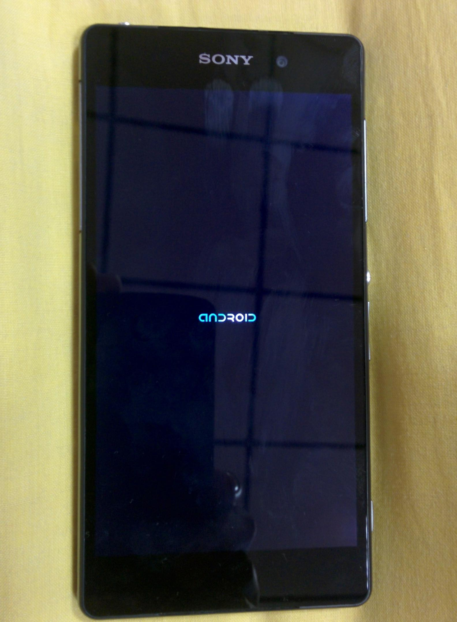 Sony-D6503-New-Android-Boot-Logo