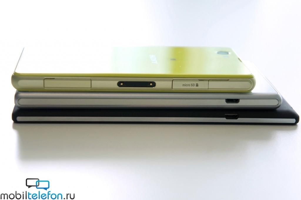 Xperia T3, Xperia Z2, Xperia Z1 Compact