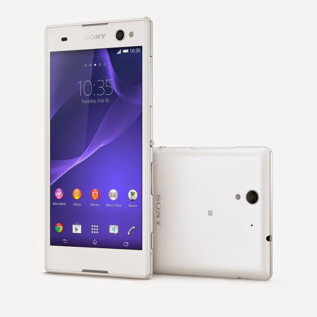 Sony Xperia C3 selfie mobil
