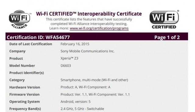 Wi-Fi-Alliance-Xperia-Z3